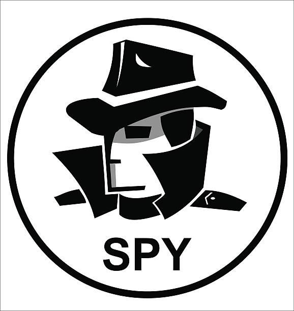 Картинка с надписью шпион