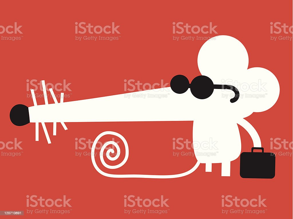 Spy mouse royalty-free spy mouse stock vector art & more images of animal