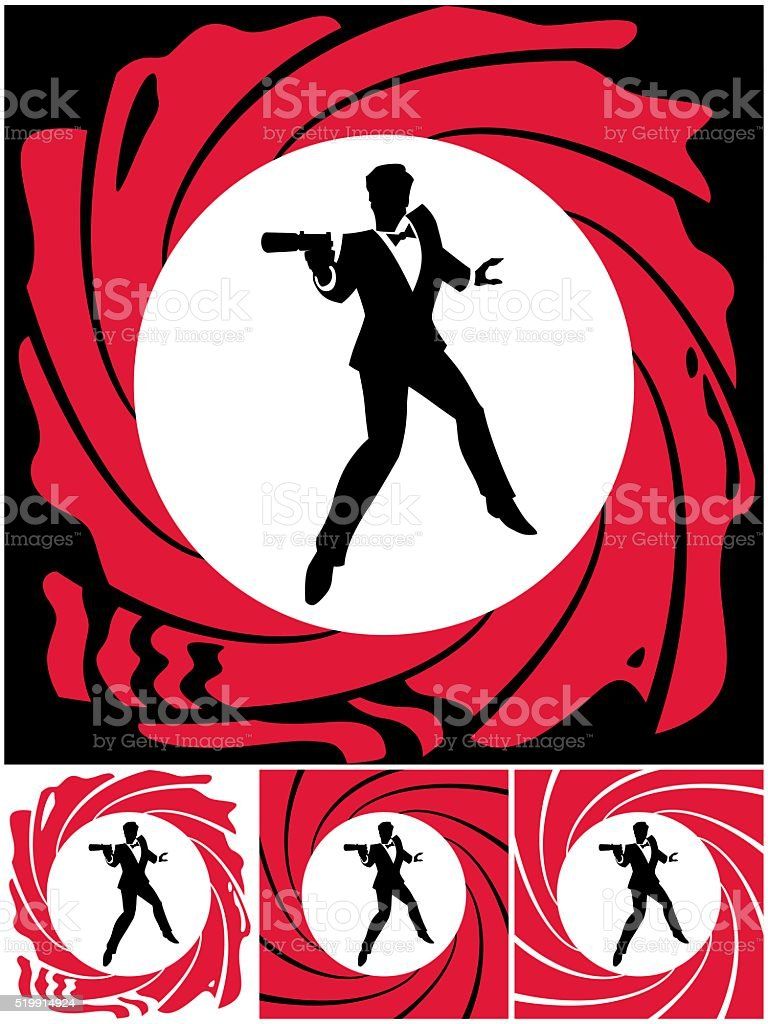 Spy vector art illustration