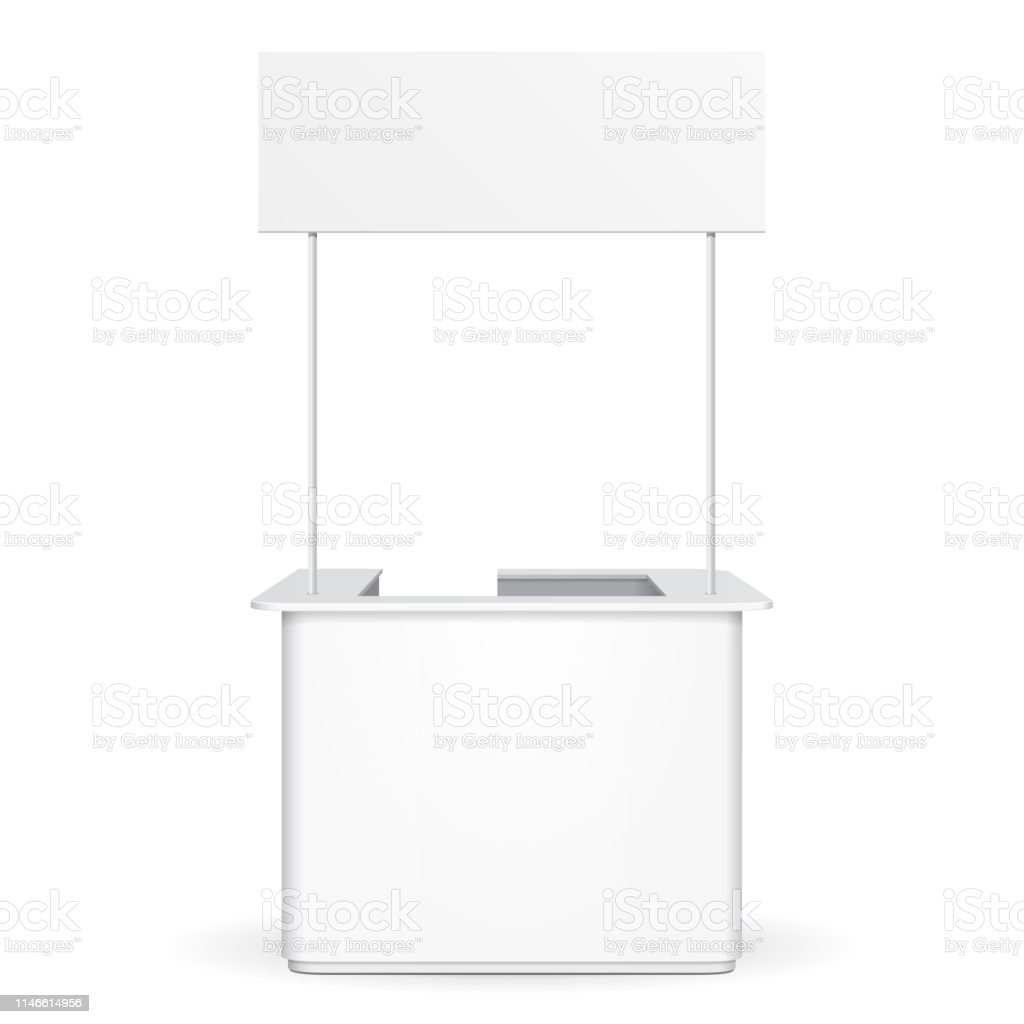 Sqaure POS POI Blank Empty Advertising Retail Stand Stall Bar Display...