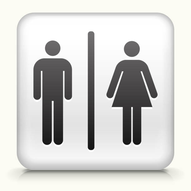 Royalty Free Restroom Sign Clip Art, Vector Images