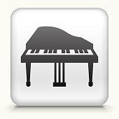 Square Button with Piano