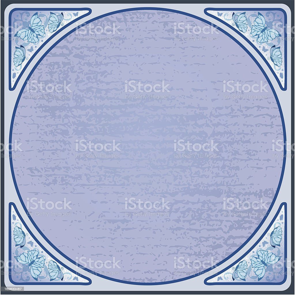 Square circle royalty-free stock vector art