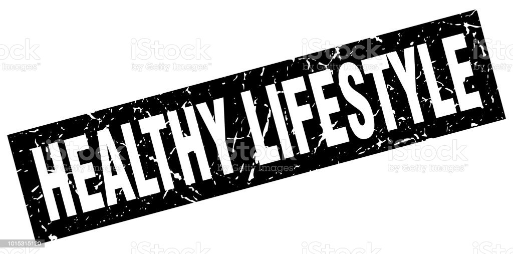 e68bf86fa2b2a square grunge black healthy lifestyle stamp royalty-free square grunge  black healthy lifestyle stamp stock
