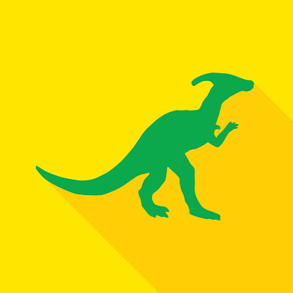 Square Parasuarolophus Icon