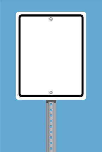 Square Traffic Sign