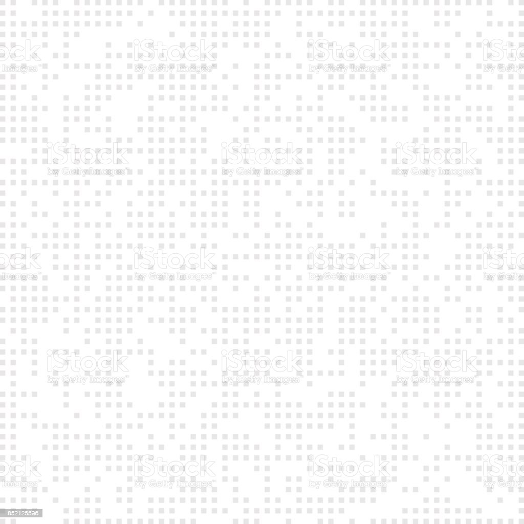 Square white. Seamless background with white squares. Geometrical abstract background vector art illustration