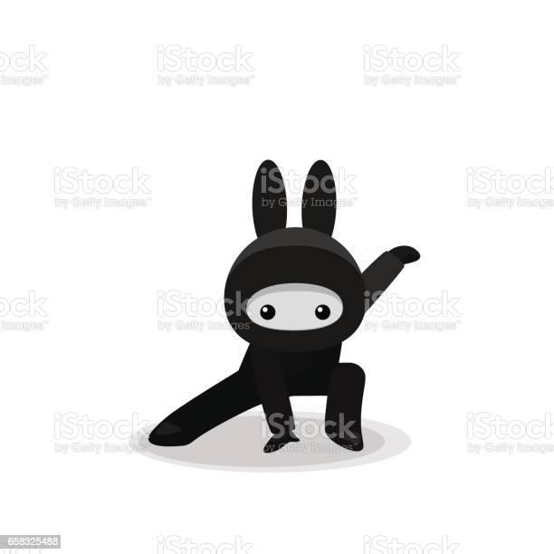 Squatting cute bunny ninja isolated on white background vector id658325488?b=1&k=6&m=658325488&s=612x612&h=jdos odr uf8ce9x2xv ztjzkjzhvff0y xwydvr8ls=