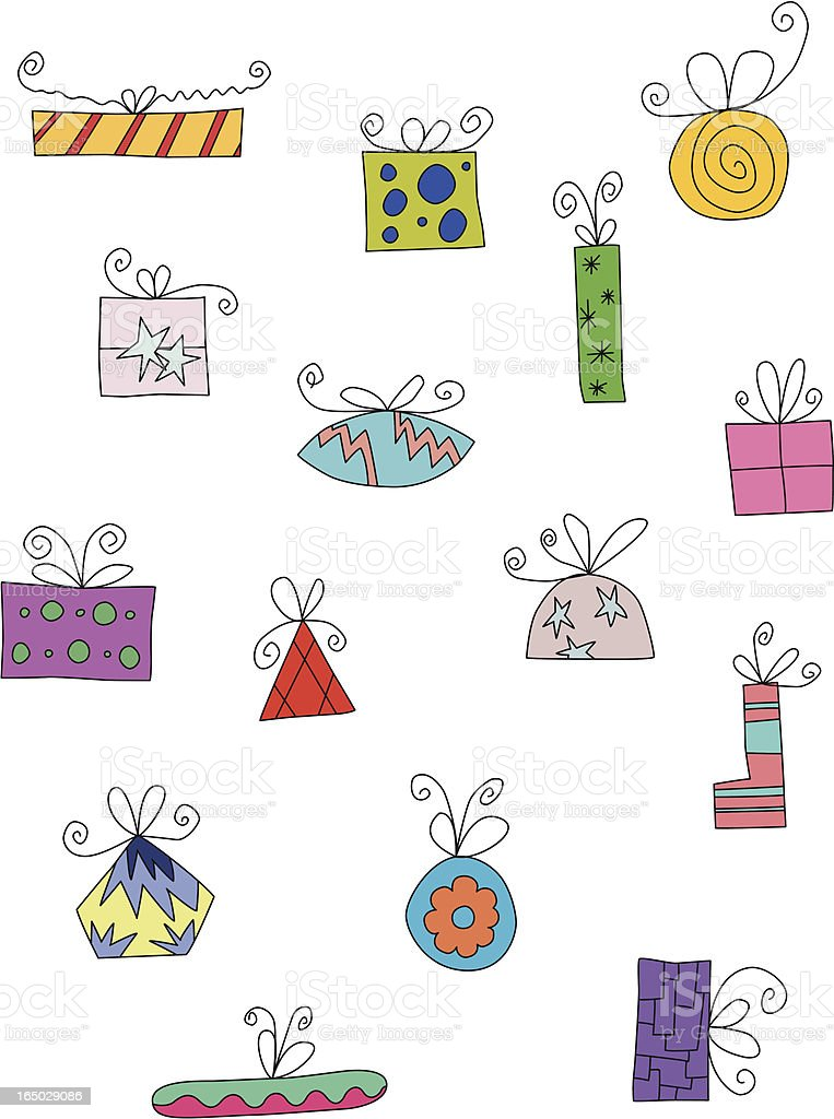 Squiggle presents royalty-free stock vector art