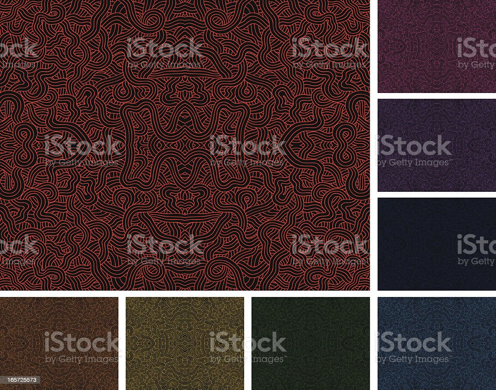 Squiggles Background royalty-free stock vector art