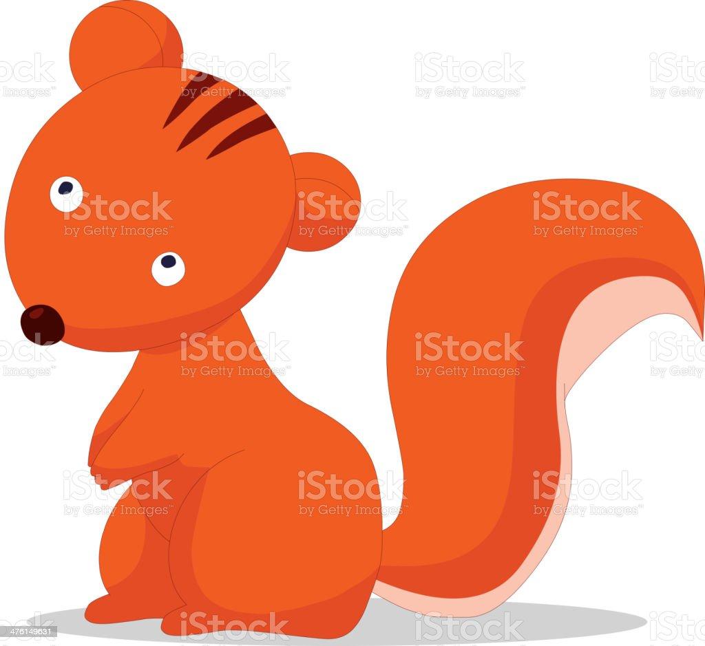 Squirrels royalty-free stock vector art