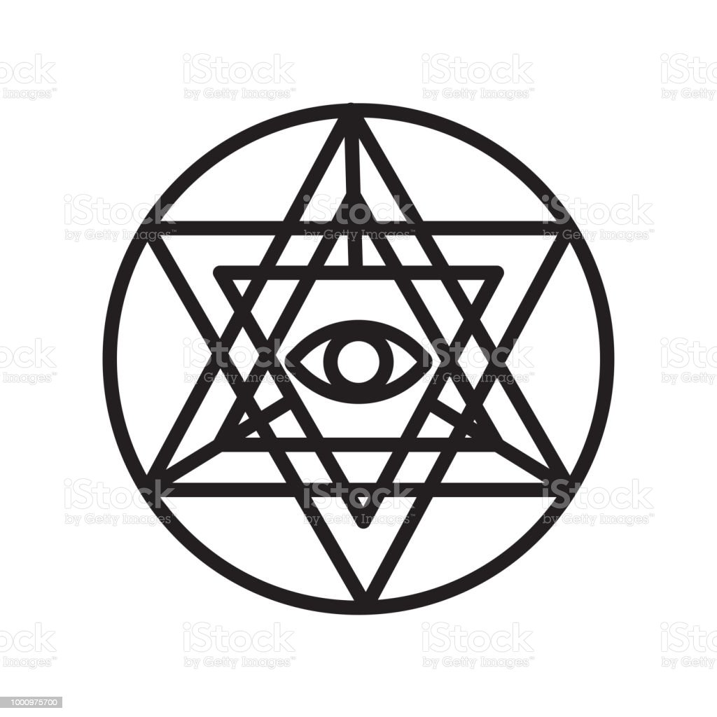 Sri Yantra Icon Vector Sign And Symbol Isolated On White Background Sri  Yantra Logo Concept Stock Illustration - Download Image Now