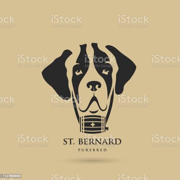 St bernard dog vector illustration vector id1147806553?b=1&k=6&m=1147806553&s=612x612&h=tbsivpkidhgbmwjzkdve6xcbznubryburyliz1d3qqu=