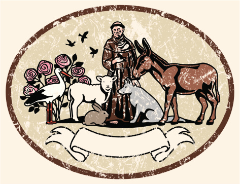 St. Francis of Assisi and Animal