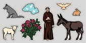 St. Francis of Assisi&Animals