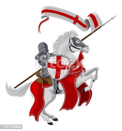 istock St George Patron Saint of England 1227550664