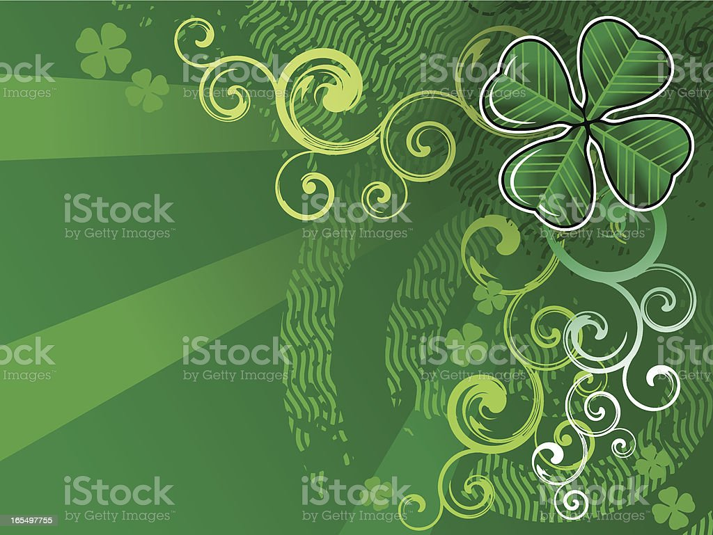 St. Patrick royalty-free stock vector art