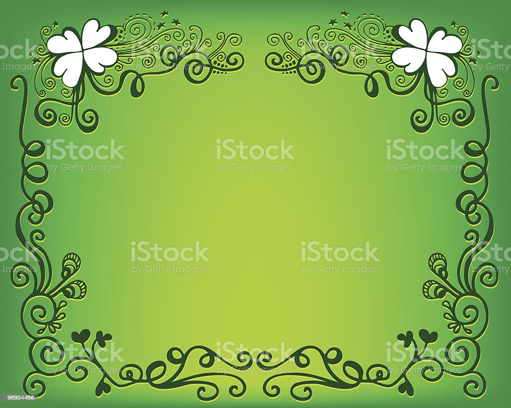 St. Patrick's background royalty-free st patricks background stock vector art & more images of art deco