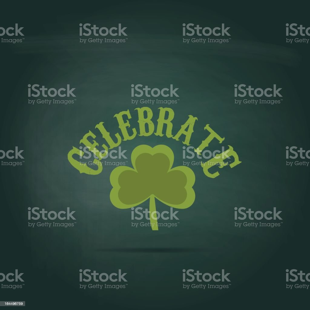 St patrick's day background royalty-free stock vector art