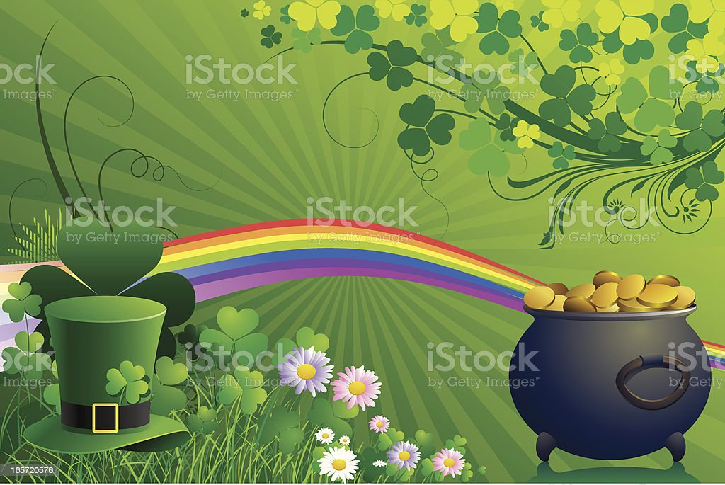 St Patrick's day background royalty-free st patricks day background stock vector art & more images of art