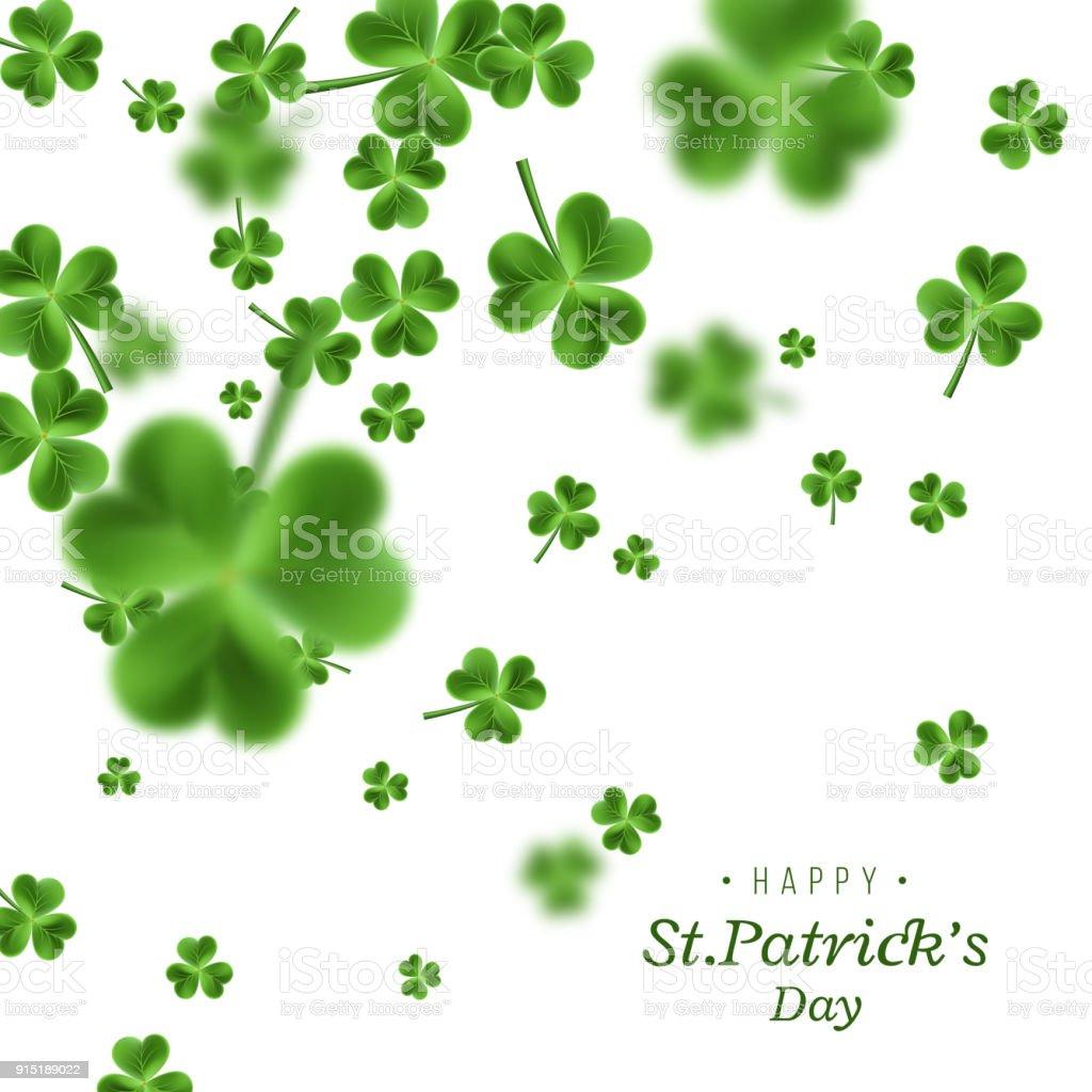 Ilustración de Fondo De Día De St Patrick y más banco de imágenes de ...