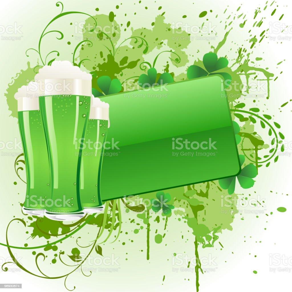 St patrick's Day Background royalty-free st patricks day background stock vector art & more images of backgrounds