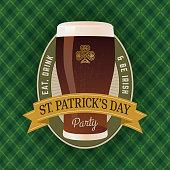 St. Patrick's Day Beer Festival - Illustration
