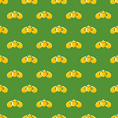 St. Patrick's Day Claddagh Seamless Pattern