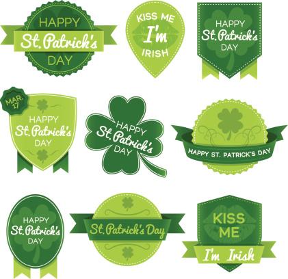 St. Patricks Day Elements