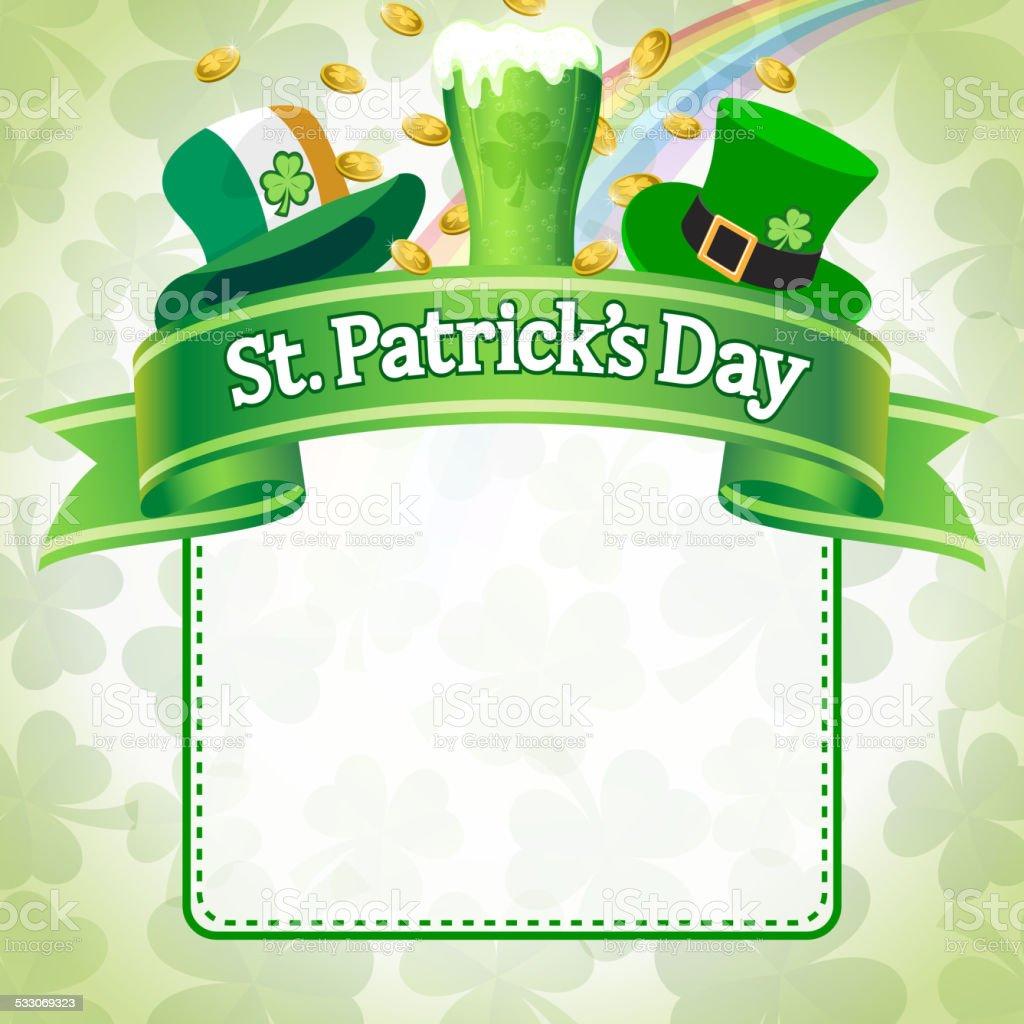 st patricks day green beer poster stock vector art 533069323 istock