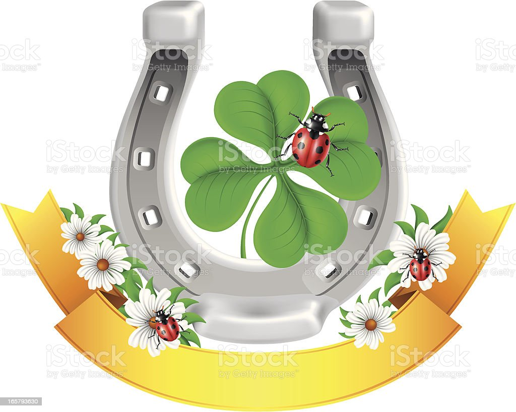 St. Patrick's Day Insignia royalty-free stock vector art