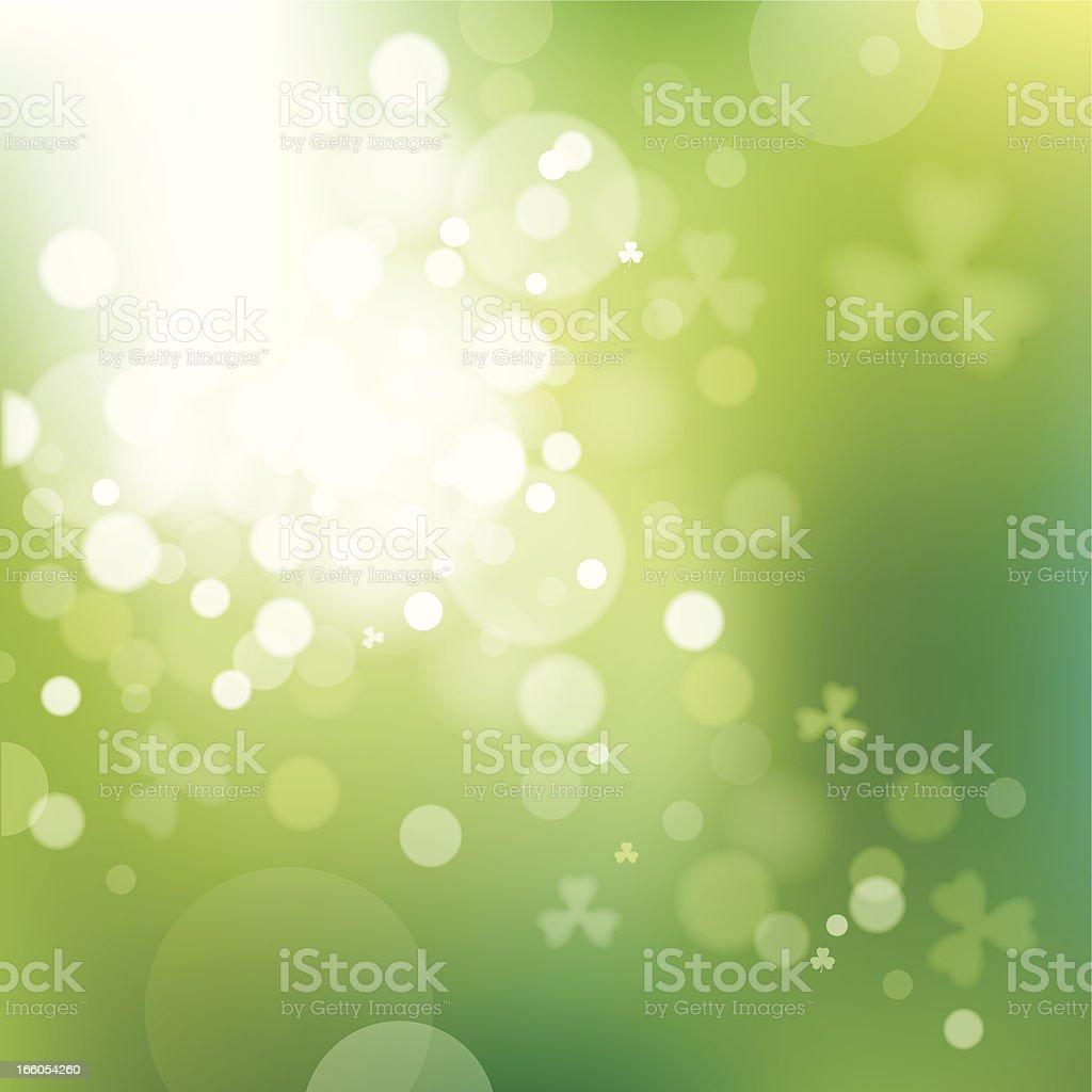 St. Patricks Day Lights royalty-free stock vector art
