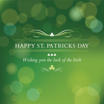 St. Patricks Day message