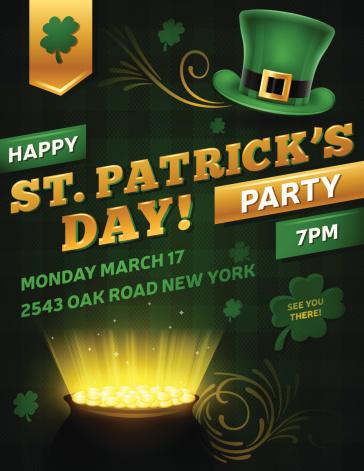 St. Patrick's Day Party Flyer