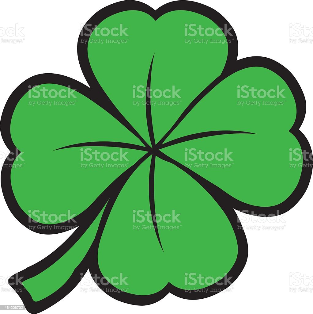 st patricks day shamrock clover leaf stock vector art more images rh istockphoto com vector shamrock free vector shamrock clip art