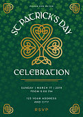 istock St. Patrick's Day Special Party Invitation Template 1131118284