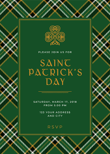 St. Patrick's Day Special Party Invitation Template
