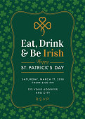 istock St. Patrick's Day Special Party Invitation Template 923258936