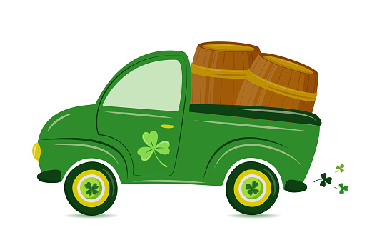 St. Patrick's Day Truck