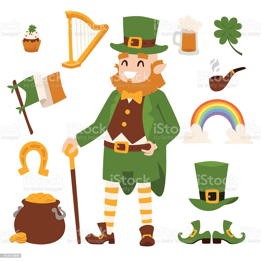 St. Patricks Day vector icons