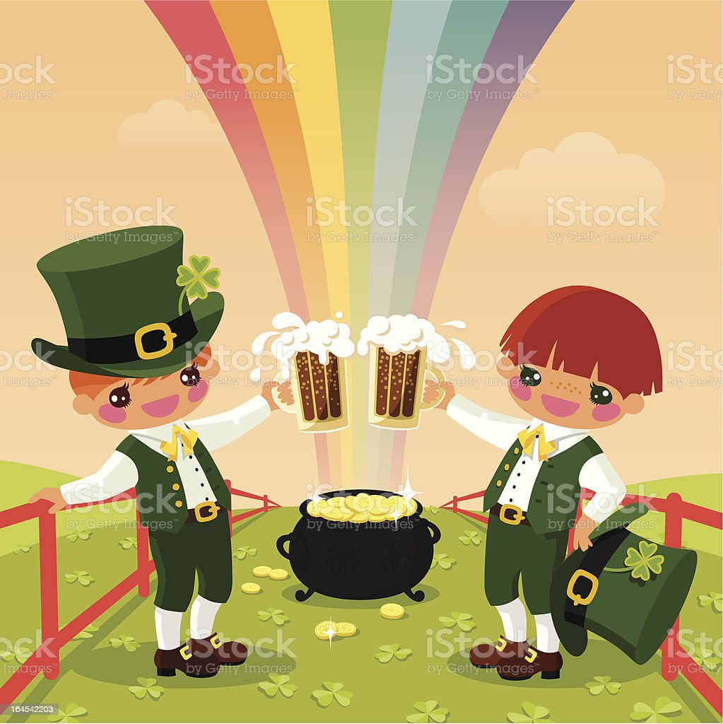 St. Patrick's Day. royalty-free stock vector art