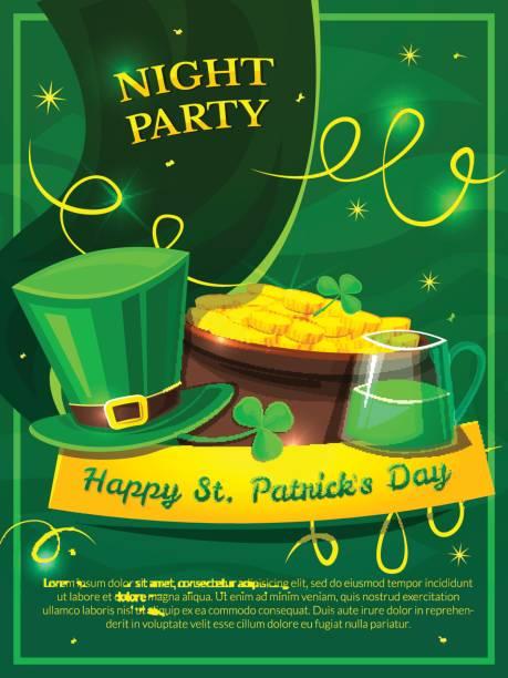 St. Patricks Day-Vektor-illustration – Vektorgrafik
