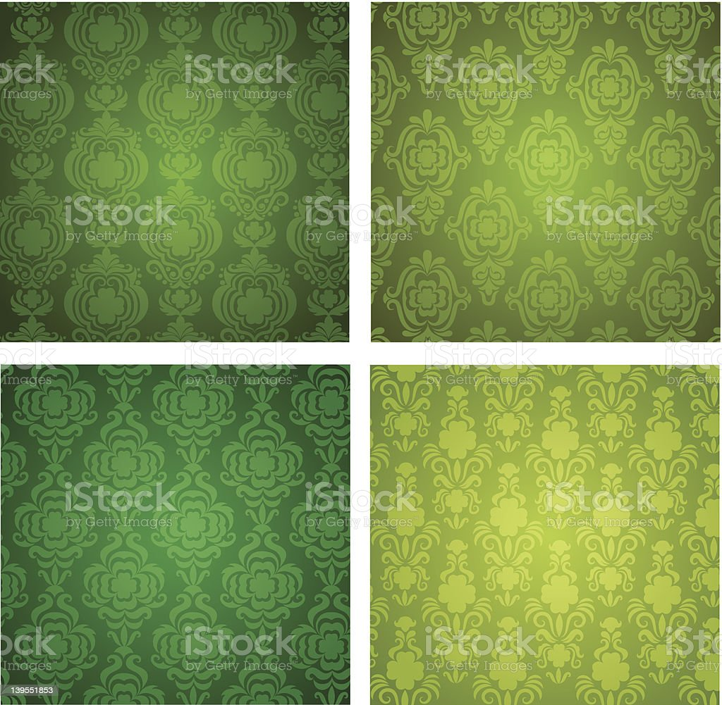 St Patricks Day Wallpapers Stock Illustration Download Image Now
