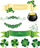 St. Patrick's design elements
