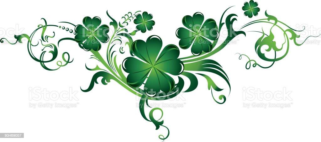 St. Patrick's element royalty-free stock vector art