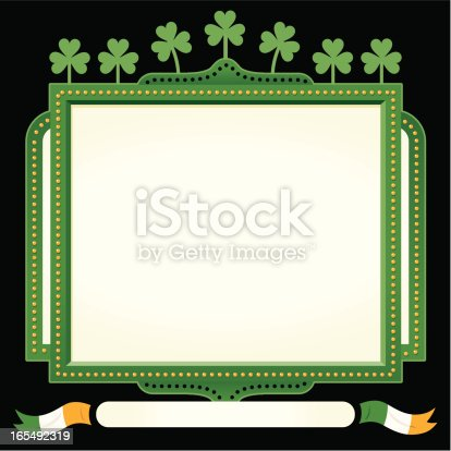 St Patrick's señal irlandés
