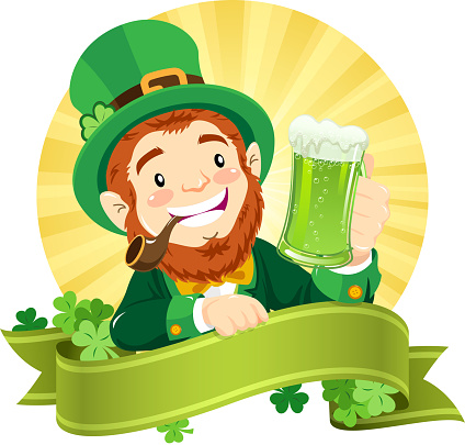 St. Patrick's Leprechaun Banner