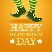 St. Patrick's Leprechaun Invitation