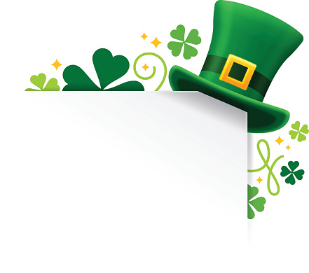 St. Patrick's Shamrock Hat Corner