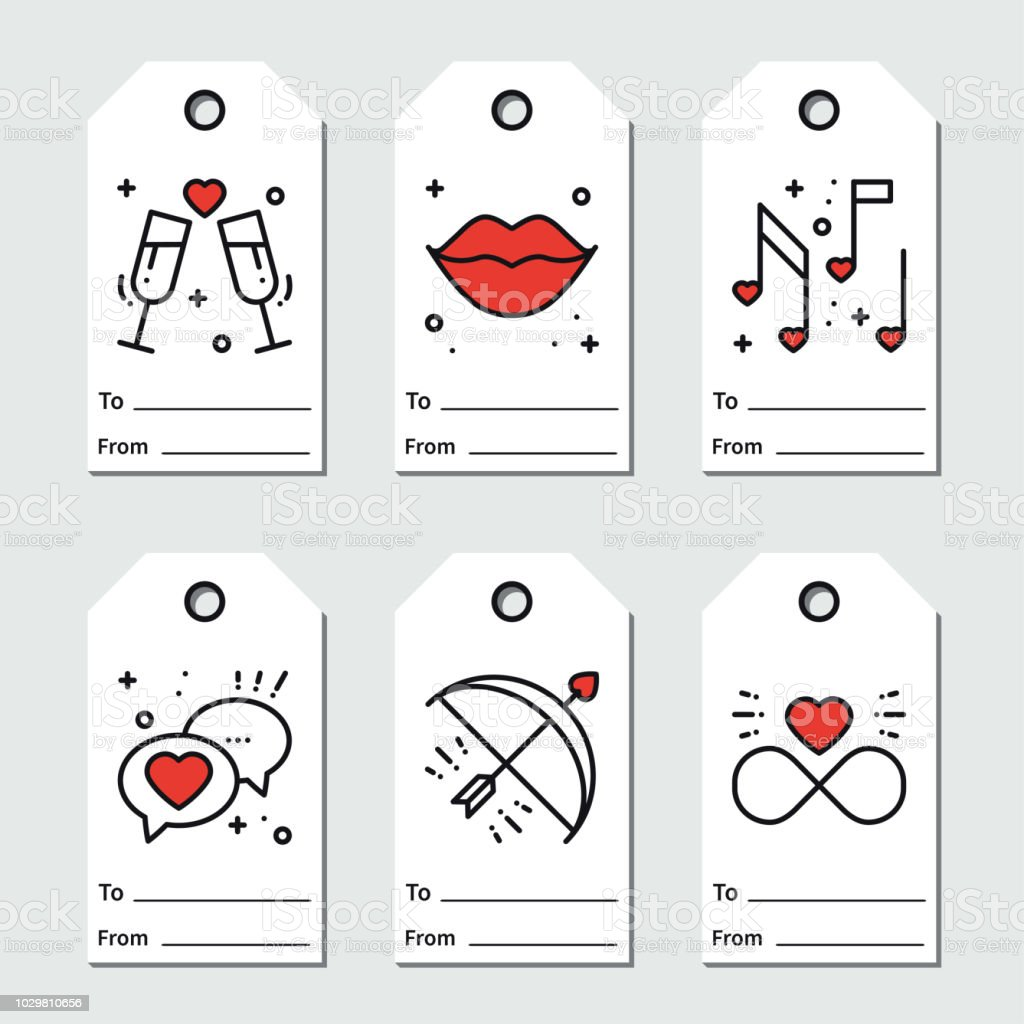 st valentines day gift tags printable tags collection love. Black Bedroom Furniture Sets. Home Design Ideas